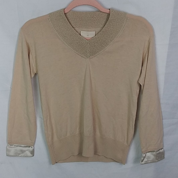 Band of Gypsies Sweaters - Girl. Band of Gypsies cashmere like satin cuff top